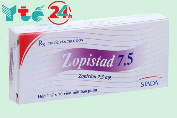 Thuốc an thần gây ngủ Zopistad