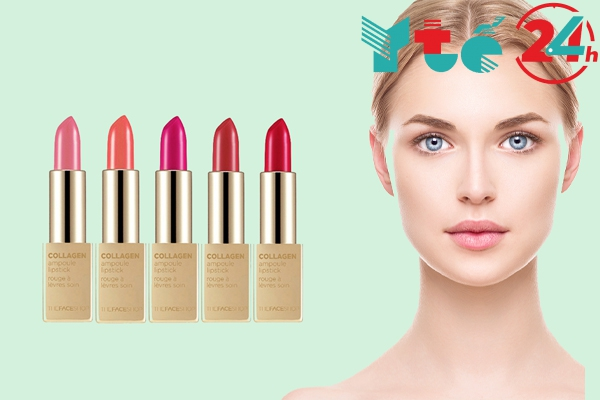Son collagen ampoule lipstick the face shop