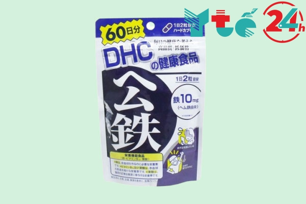 Viên uống bổ sung sắt DHC
