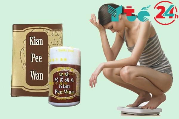 Công dụng của thuốc tăng cân Kian Pee Wan
