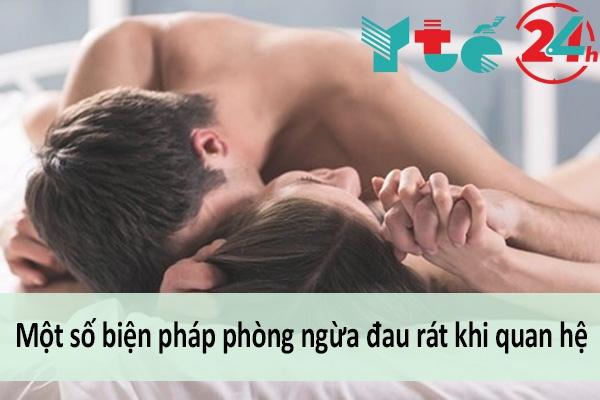 Một số biện pháp phòng tránh đau rát khi quan hệ cho cặp đôi