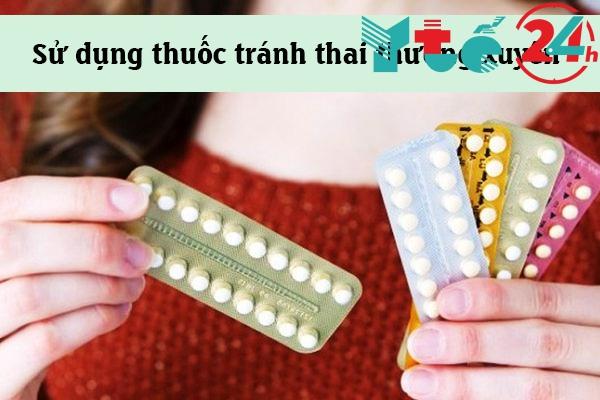 Sử dụng thuốc tránh thai