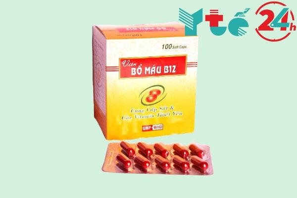 Thuốc bổ máu B12
