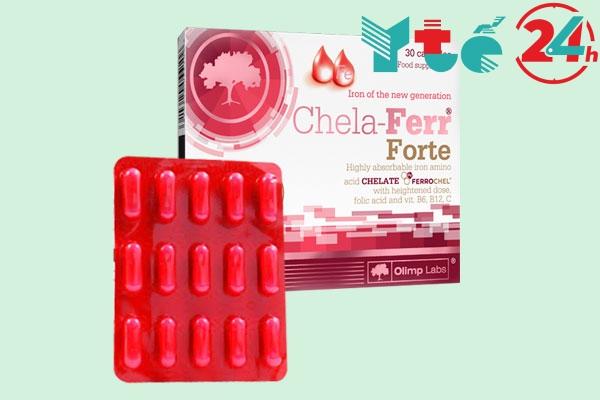 Viên sắt tổng hợp cho bà bầu Chela - Ferr Forte