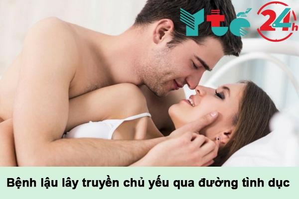 90% số ca mắc bệnh lậu lây truyền qua đường tình dục