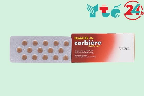 Thuốc bổ máu của Pháp Fumafer - B9 corbière