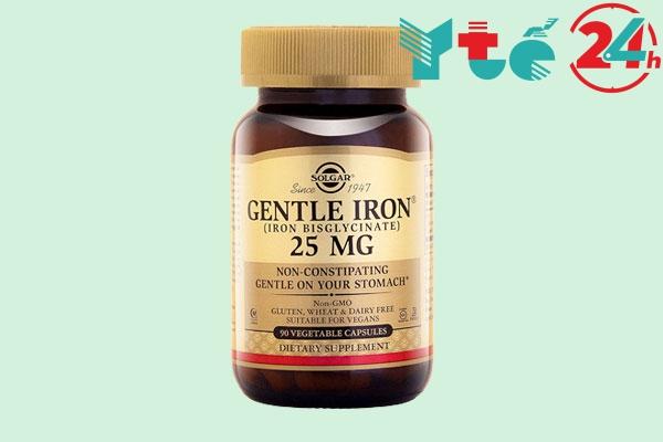 Thực phẩm chức năng bổ sung sắt Gentle Iron 25mg