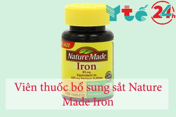 Viên thuốc bổ sung sắt Nature Made Iron