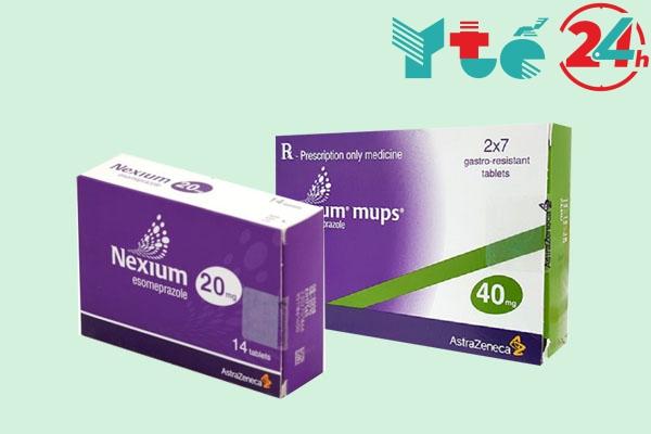 Thuốc Nexium mups 20mg, 40mg bán ở đâu? Mua ở đâu?