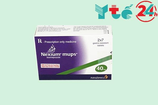 Lưu ý khi dùng Nexium mups 20mg, 40mg