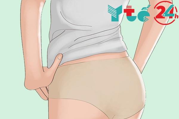 quần lót quá chật gây nên các bệnh phụ khoa dẫn đến vùng kín có mùi