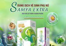 Dung dịch vệ sinh phụ khoa Samya