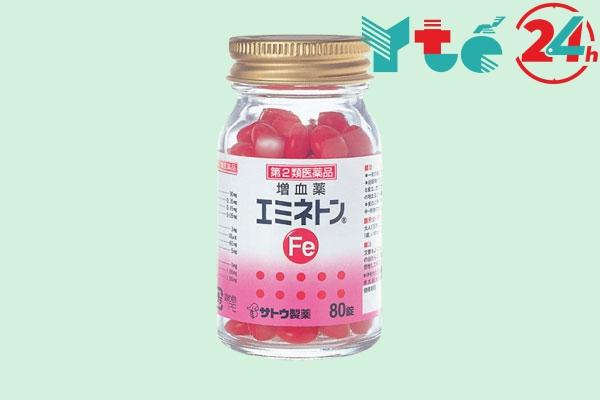 Viên uống bổ máu Sato Nhật Bản