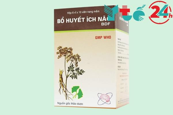 Thuốc bổ huyết ích não BDF của Việt Nam