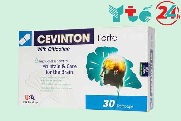 Thuốc bổ não cho trẻ em Cevinton Forte