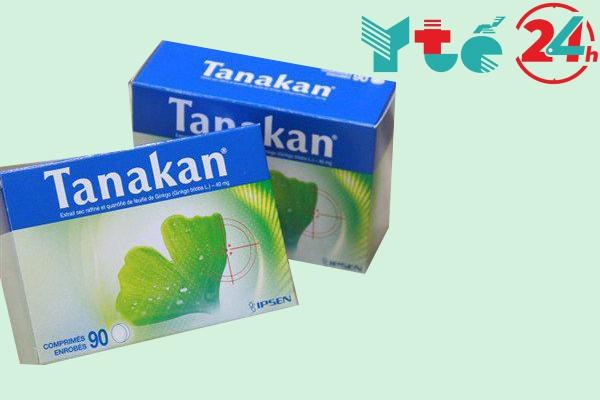 Thuốc bổ não của Pháp Tanakan