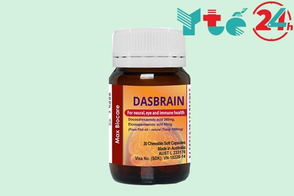 Thuốc bổ não của Úc Dasbrain