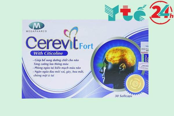Thuốc bổ não của Việt Nam Ceravit