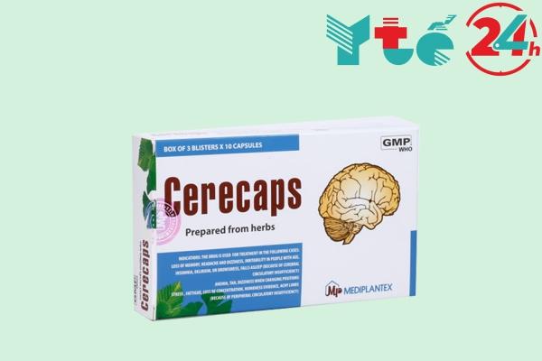 Thuốc bổ não của Việt Nam Cerecaps