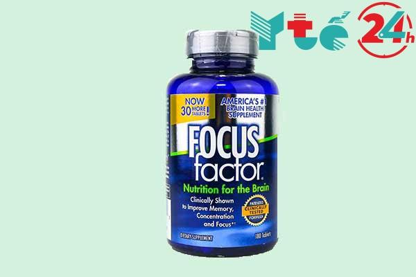 Thuốc bổ não Focus Factor của Mỹ