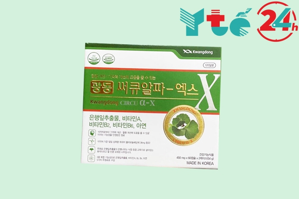 Thuốc bổ não Hàn Quốc