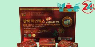 Tinh dầu thông đỏ Kwangdong xuất xứ từ Hàn Quốc