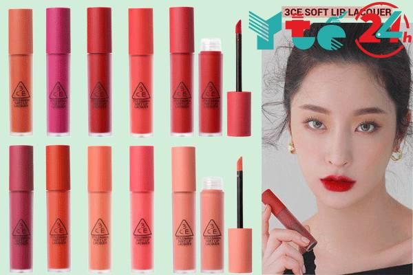Son 3CE Soft Lip Lacquer