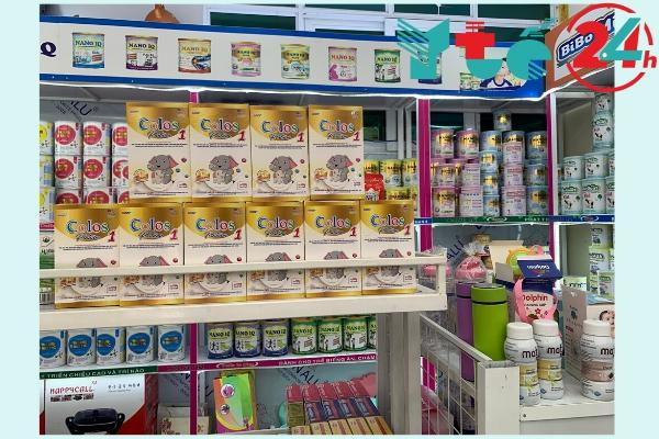 Sản phẩm được bán với giá 630,000đ tại khắp các siêu thị và trung tâm sữa trên toàn quốc