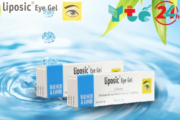 Liposic Eye Gel được dùng để điều trị bệnh khô mắt