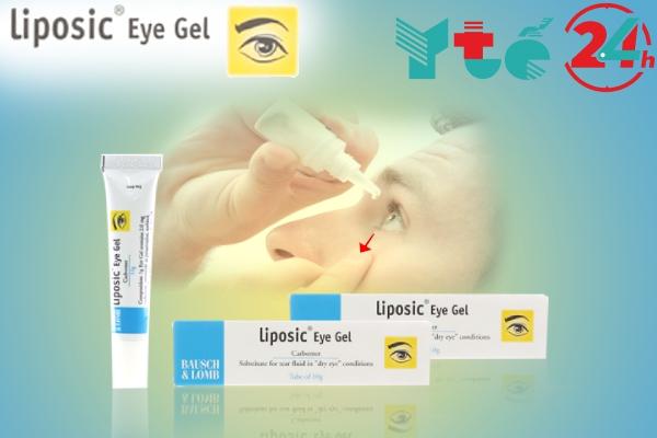 Cách sử dụng Liposic Eye Gel đúng cách