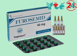 Furosemid có tác dụng lợi tiểu hiệu quả