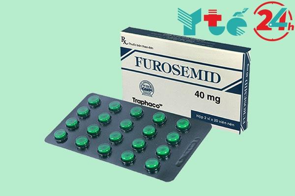 Thuốc lợi tiểu quai Furosemid có tác dụng phụ không?