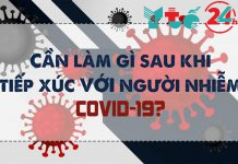 Tìm hiểu về những điều cần làm sau khi tiếp xúc với người nhiễm COVID-19