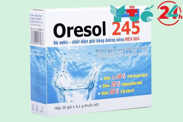 Oresol điều trị tiêu chảy