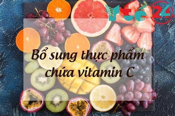 Tăng cường sức đề kháng bằng các thực phẩm chứa nhiều vitamin C