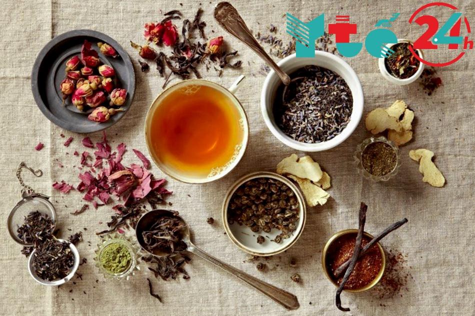 Cách kết hợp trà thảo mộc