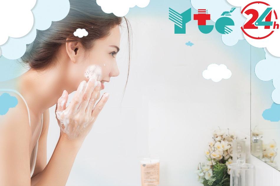 Công đoạn làm sạch rất quan trọng trong việc dưỡng da