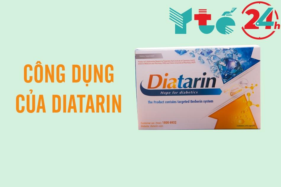 Công dụng của Diatarin