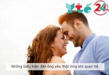 Những biểu hiện của đàn ông yêu thật lòng khi quan hệ
