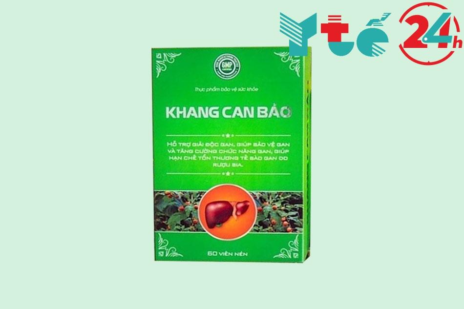 Khang Can Bảo khi tư vấn khách hàng về bệnh gan?