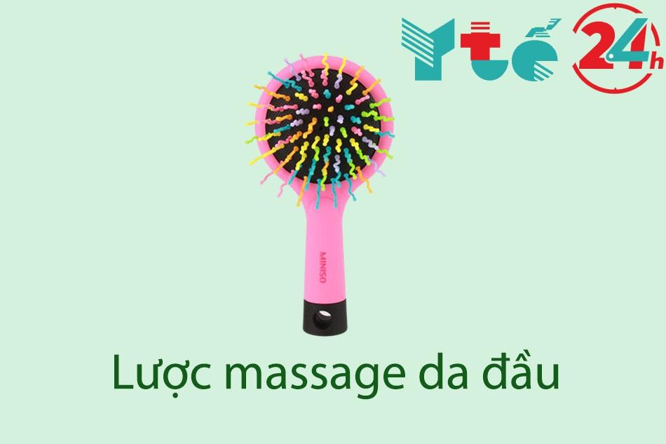 Lược massage da đầu