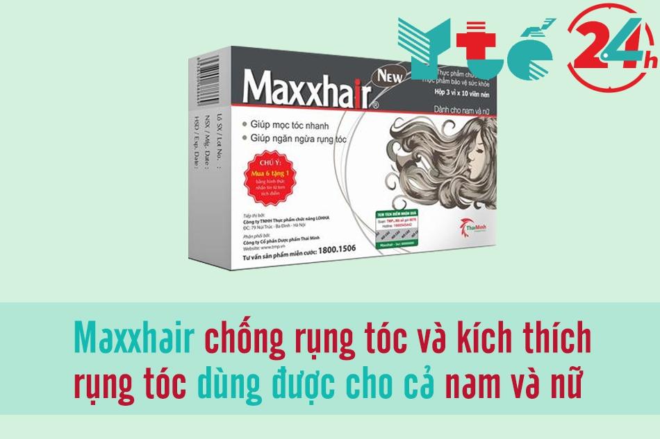 Viên uống kích thích mọc tóc Maxxhair
