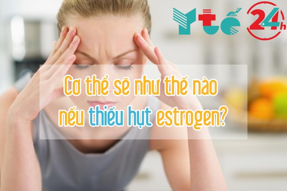 Các biểu hiện của có thể khi thiếu Hormone Estrogen