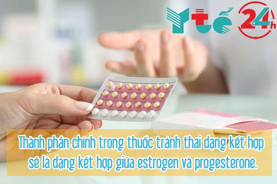 Hiện nay, Hormone Estrogen còn có trong một số loại thuốc tránh thai