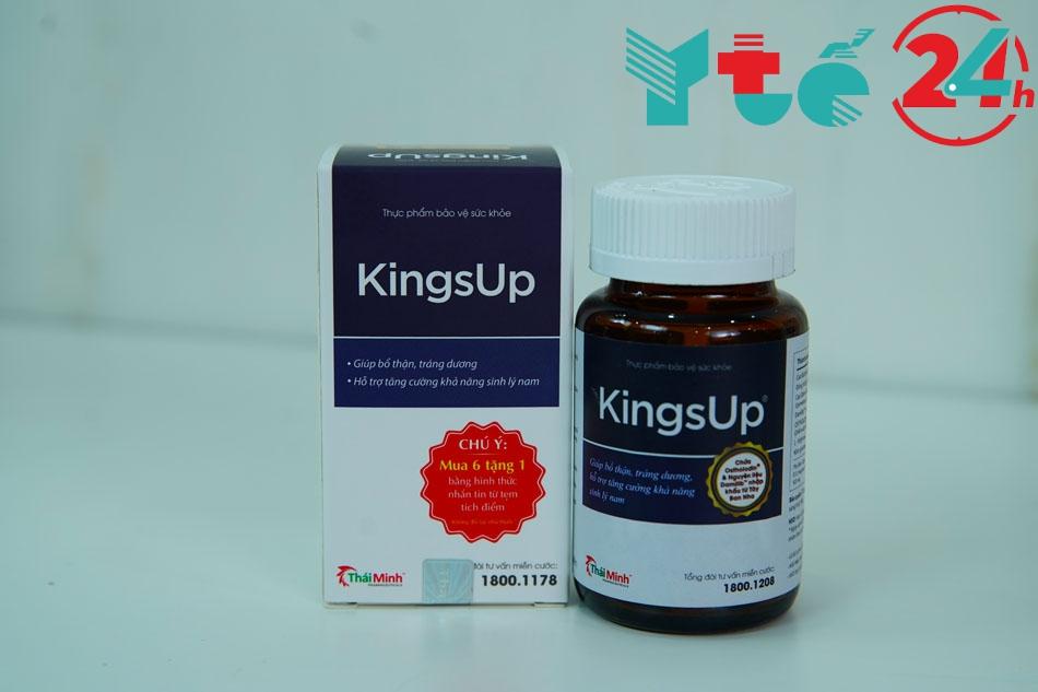 Hướng dẫn cách dùng và liều dùng KingsUp hiệu quả