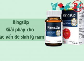 KingsUp - Giải pháp cho các vấn đề sức khoẻ nam giới
