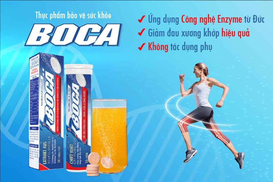 Viên sủi Boca là sản phẩm kế thừa thành tựu công nghệ Enzyme siêu hoạt hóa từ CHLB Đức