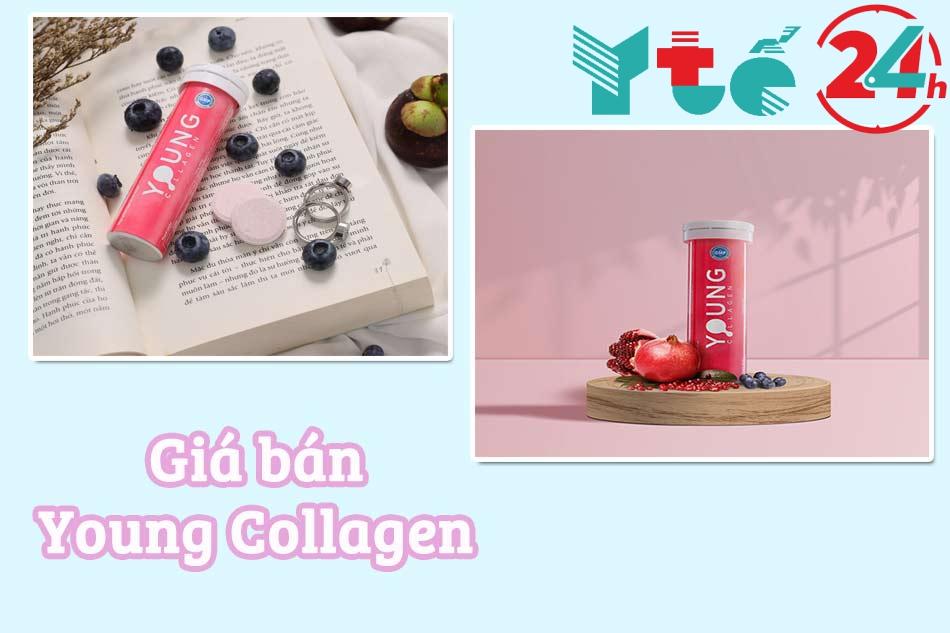 Giá bán chính hãng Young Collagen