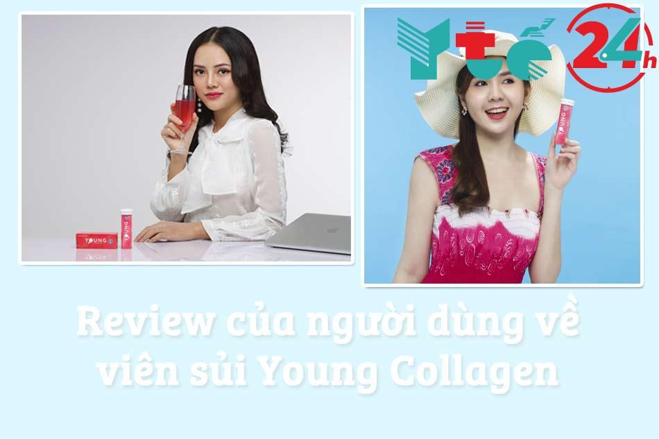 Review của người đã sử dụng viên sủi Young Collagen