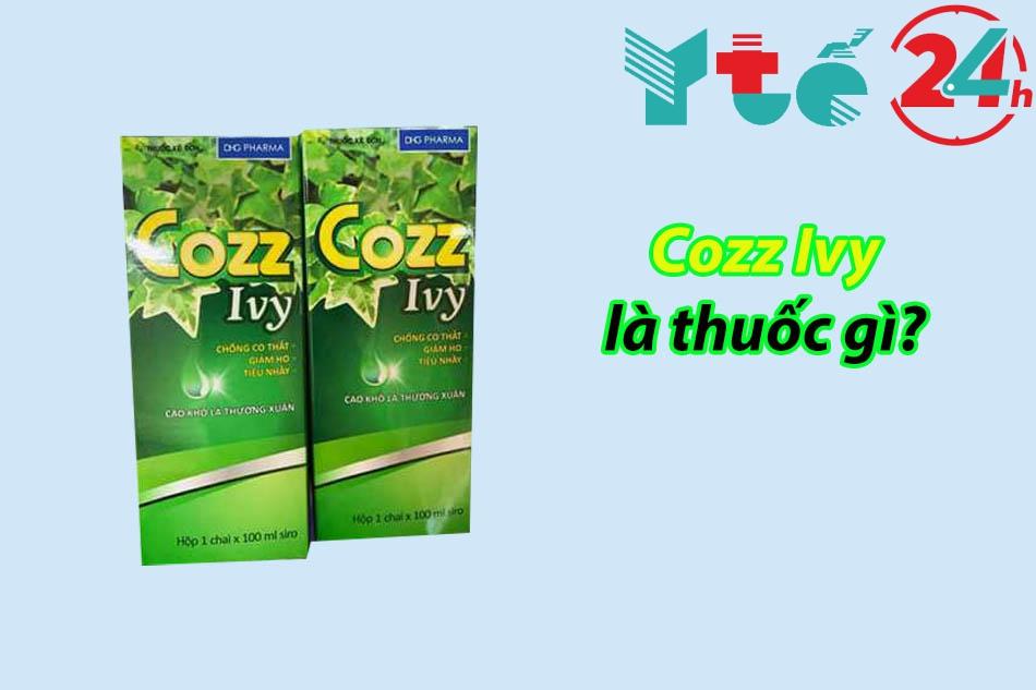 Cozz Ivy là thuốc gì?